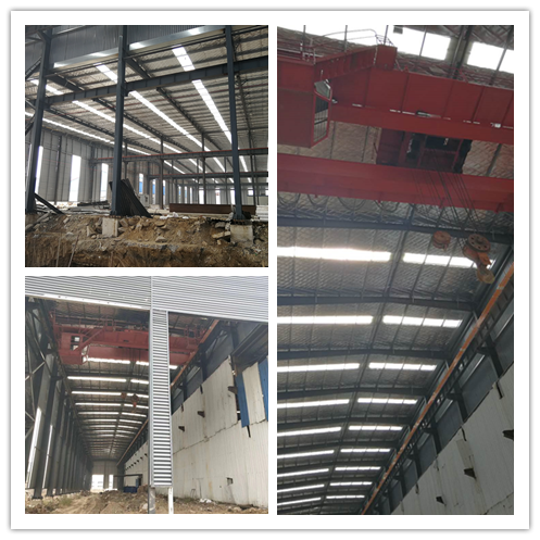 New factory under construction
