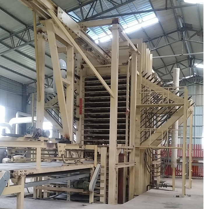 OSB Hot Press Machine